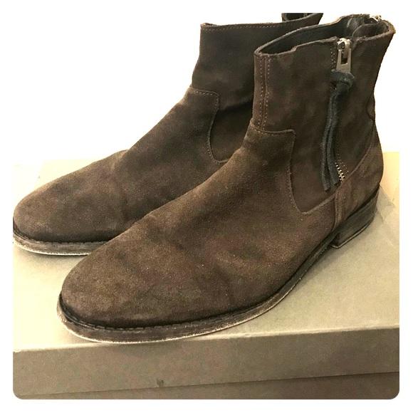 c6329aba48c AllSaints Men's leather Strode boots